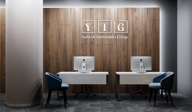 Офис компании Y.I.G. в  «Москва-Сити», Москва
